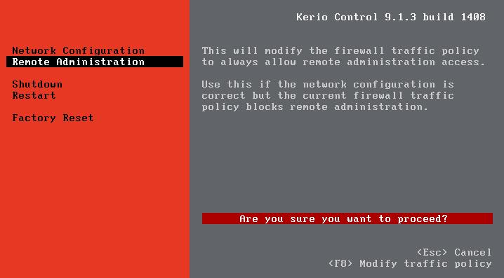 مراحل نصب و راه اندازی کریو کنترل - kerio control