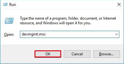 آموزش نصب درایور در ویندوز 10 - Run
