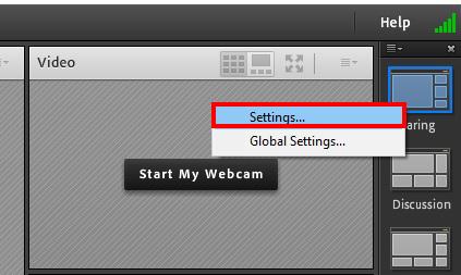 مشکلات Adobe Connect - ادوبی کانکت - قسمت دوم - video - setting