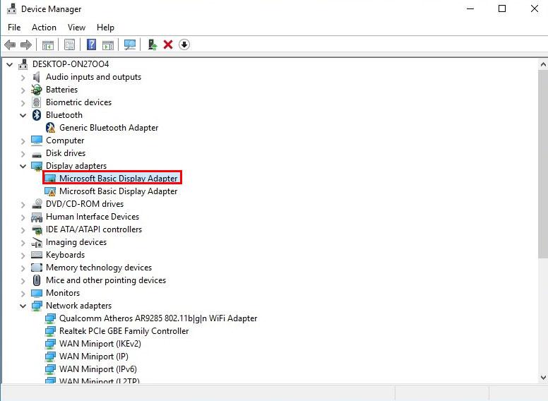 آموزش نصب درایور در ویندوز 10 - Device Management