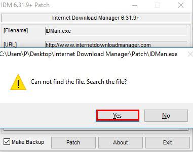 آموزش نصب و فعال سازی دانلود منیجر - Internet Download Manager - پیام خطای دانلود منیجر