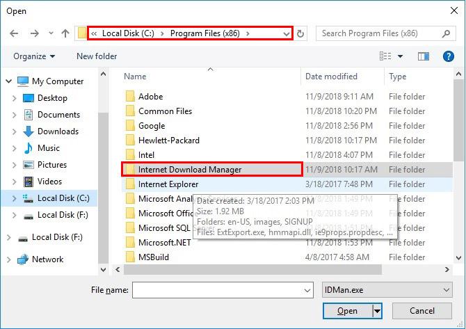 آموزش نصب و فعال سازی دانلود منیجر - Internet Download Manager - مسیر ذخیره دانلود منیجر