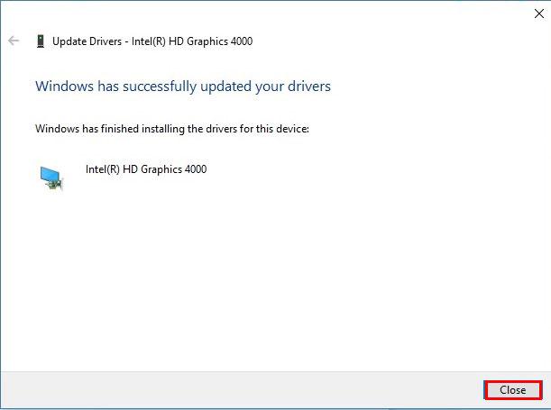 آموزش نصب درایور در ویندوز 10 - Windows has Successfully updated your drivers