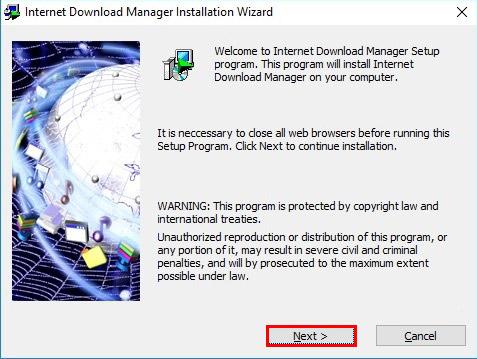 آموزش نصب و فعال سازی دانلود منیجر - Internet Download Manager - نصب اینترنت دانلود منیجر 1