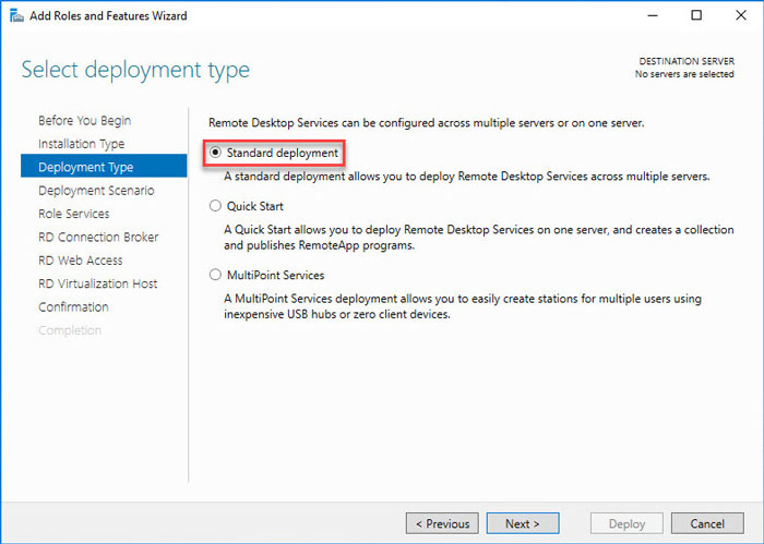 آموزش نصب و راه اندازی RemoteApp در ویندوز سرور 2016 - راه اندازی ترمینال سرور 2016