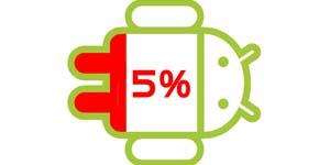 حل مشکل خالی شدن شارژ باتری در گوشی های اندروید