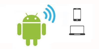 به اشتراک گذاری اینترنت گوشی با وای فای بلوتوث و کابل USB