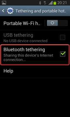 اتصال اینترنت گوشی اندرویدی به کامپیوتر ,لپ تاپ یا گوشی