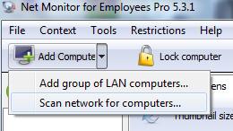 کنترل کامپیوتر دیگران در شبکه