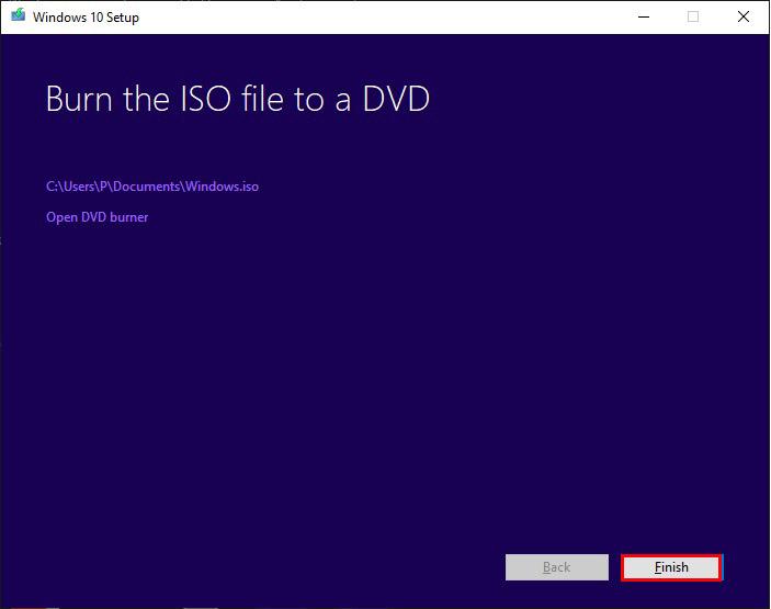 چگونه ویندوز 10 را آپدیت کنیم؟ - آماده سازی فایل ایزو DVD
