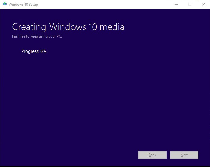 چگونه ویندوز 10 را آپدیت کنیم؟ - ساختن ویندوز 10 media