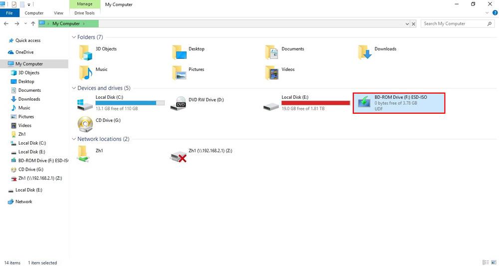 چگونه ویندوز 10 را آپدیت کنیم؟ - درایور فایل iso