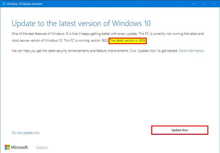 چگونه ویندوز 10 را آپدیت کنیم؟ - پنجره بروزرسانی ویندوز 10
