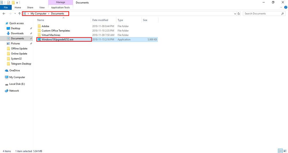 چگونه ویندوز 10 را آپدیت کنیم؟ - محل ذخیره فایل بروزرسانی