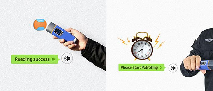 پیام صوتی در دستگاه گشت و نگهبانی با بهترین قیمت و کیفیت
