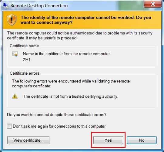 Remote Desktop Connection - 8