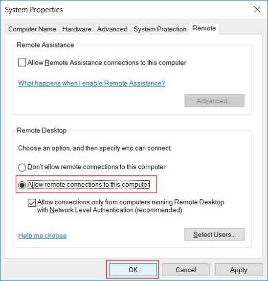 Remote Desktop Connection - 3