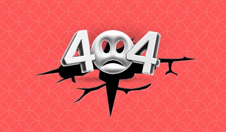ارور 404 چیست - شکل های مختلف ارور 404