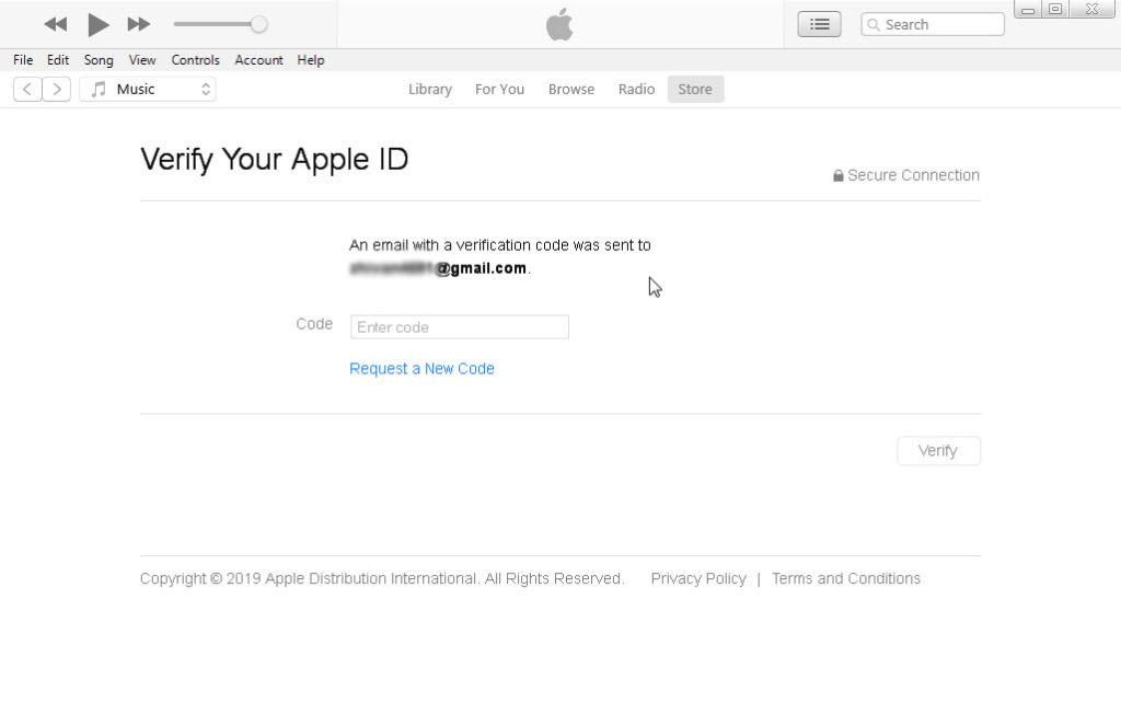 ساخت اپل آی دی با آیتونز