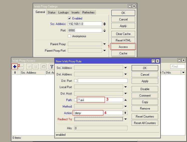 بستن دانلود در شبکه برای یک پسوند مشخص با روتر میکروتیک