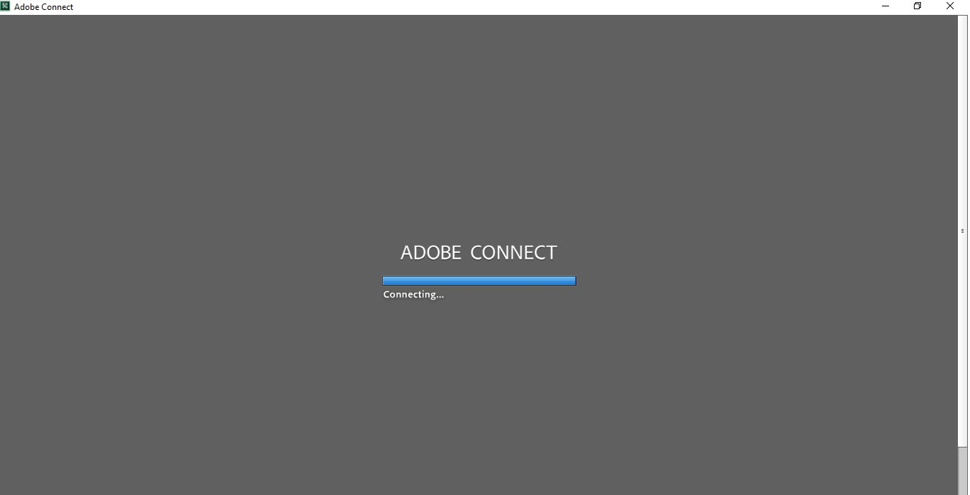 مشکل Connecting در Adobe Connect - ادوبی کانکت