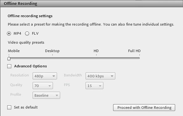 تبدیل فایل ضبط شده به فایل MP4 در Adobe Connect - ادوبی کانکت