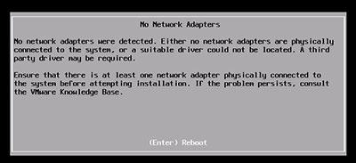 نصب vmware بر روی سرور HP