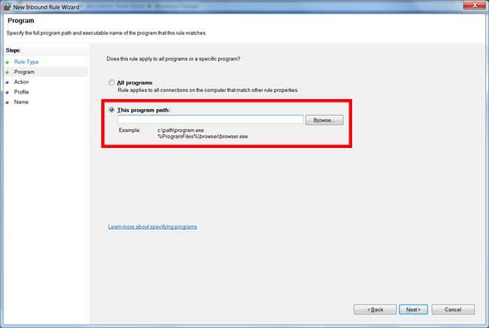آموزش شبکه - کار با فایروال ویندوز
