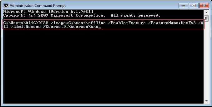 نحوه نصب دات نت فریم ورک 3.5 در ویندوز 2012 بدون اینترنت