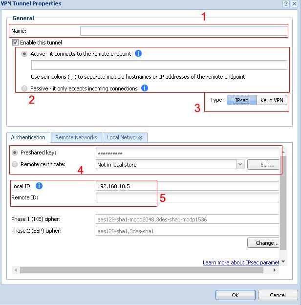ارتباط از نوع IPsec بین دو شبکه با کریو کنترل - خدمات شبکه