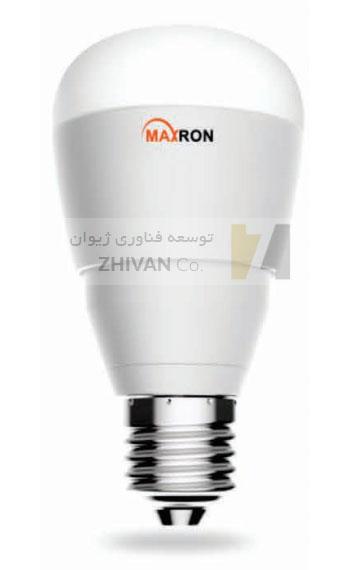 لامپ هوشمند مکسرون maxron خانه هوشمند