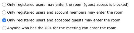 مدیریت دسترسی جلسه در Adobe Connect - ادوبی کانکت - رجیستر - Register