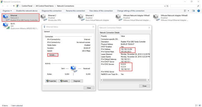راه اندازی DHCP Server و DHCP Client در میکروتیک - کارت شبکه