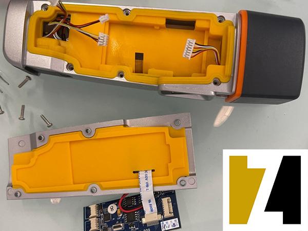 بخش های داخلی دستگاه گشت و نگهبانی WM-5000X1