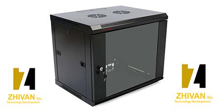 فروش مینی رک و انواع تجهیزات شبکه در سایت ژیوان