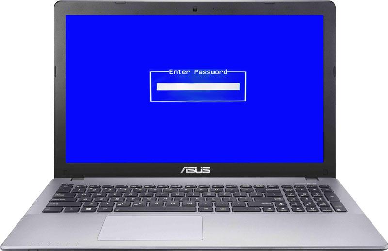 حذف پسورد بایوس لپ تاپ ASUS
