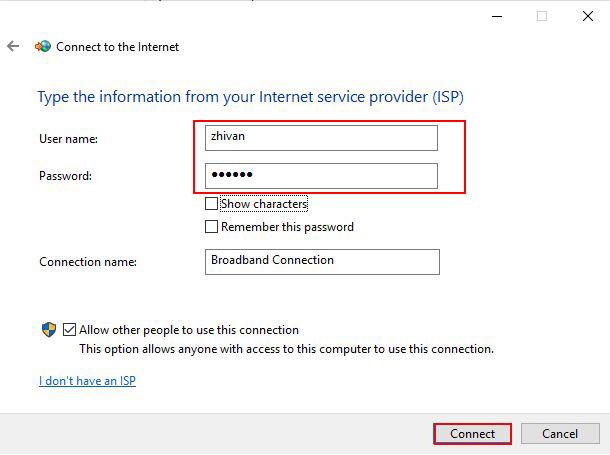 راه اندازی pppoe server در میکروتیک - connect to the internet