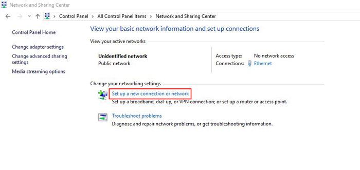 راه اندازی pppoe server در میکروتیک - set up a new connection or network