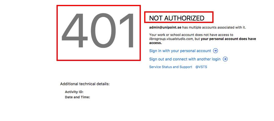 پیغام خطای 401 چیست - HTTP 401