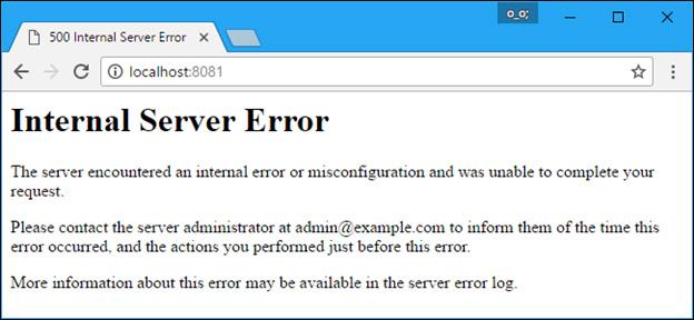 ارور 500 Internal Server Error چیست - خطای500 Internal Server Error چیست
