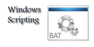 آموزش اسکریپت نویسی bat. و ترفندهای جالب در ویندوز