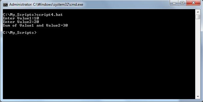 ترفندهای ویندوز 3 - دستور SET و تعریف متغیر در اسکریپت