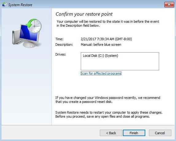 دلایل نمایش صفحه آبی در ویندوز ۱۰
